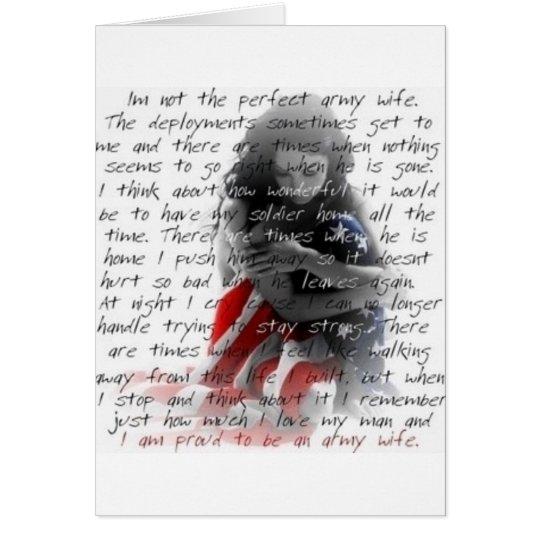 army wife poem card