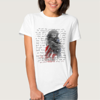 army wife poem T-Shirt