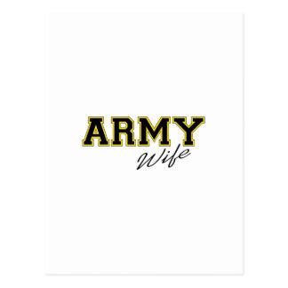 ARMY WIFE POSTCARD