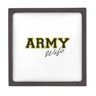 ARMY WIFE PREMIUM KEEPSAKE BOXES
