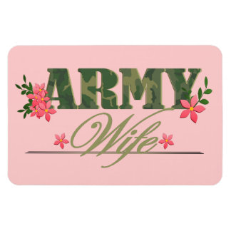 Army Wife Rectangular Magnet