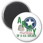 Army Wife - Proud Fridge Magnet