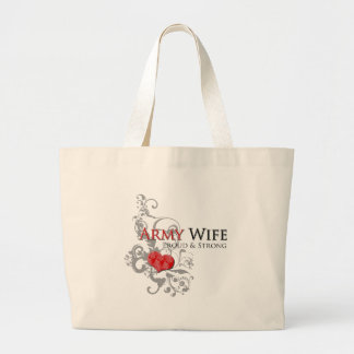 Army Wife - Proud & Strong Bag