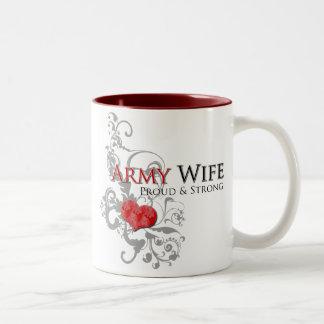 Army Wife - Proud & Strong Mug