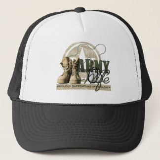 Army Wife - Proudly Supporting my Soldier Trucker Hat