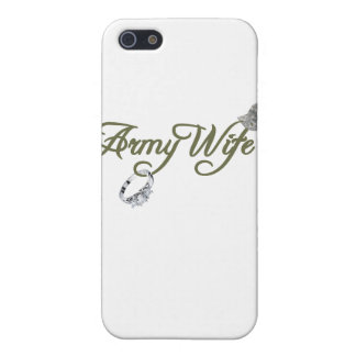 army wife-ring, dog tag, hat- green iPhone SE/5/5s cover