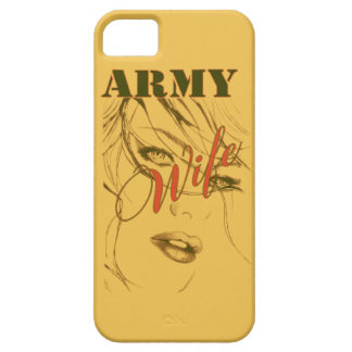 Army Wife Sillouette iPhone SE/5/5s Case