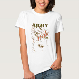 Army Wife Sillouette Tshirt