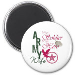 Army Wife - Soldier Fridge Magnets