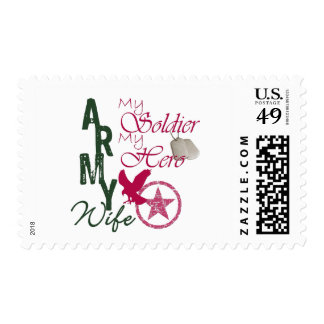 Army Wife - Soldier Stamp
