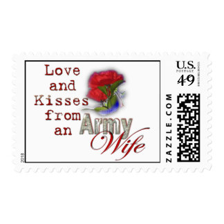 Army Wife Stamp