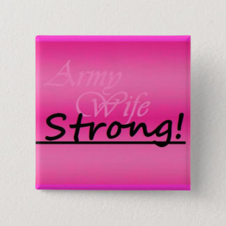 army wife strong button