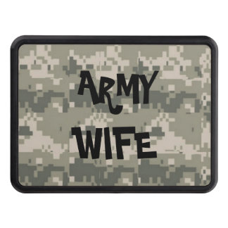 ARMY WIFE TOW HITCH COVER