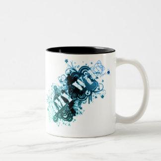 Army Wife Two-Tone Coffee Mug