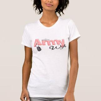 Army Wife w/ Princess Crown T-Shirt