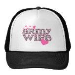 Army Wife [zebra print] Trucker Hat