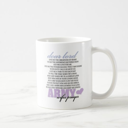 Army Wife's Prayer Coffee Mug