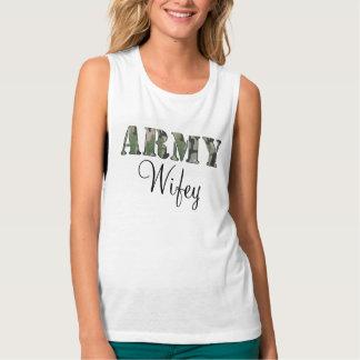 Army Wifey Tank Top