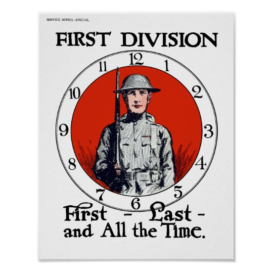 Army -- WWI Poster
