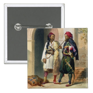 Arnaout and Osmanli Soldiers in Alexandria, illust Pin