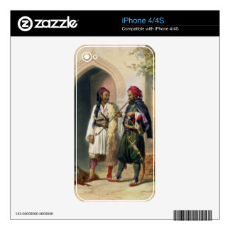 Arnaout and Osmanli Soldiers in Alexandria, illust iPhone 4S Skins