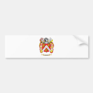 Arndt Coat of Arms (Family Crest) Bumper Sticker