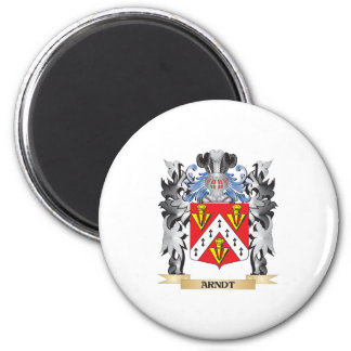 Arndt Coat of Arms - Family Crest 2 Inch Round Magnet