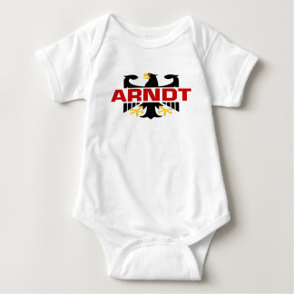 Arndt Surname Baby Bodysuit