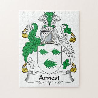 Arnest Family Crest Puzzles