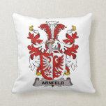 Arnfeld Family Crest Pillow