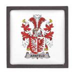 Arnfeld Family Crest Premium Trinket Boxes