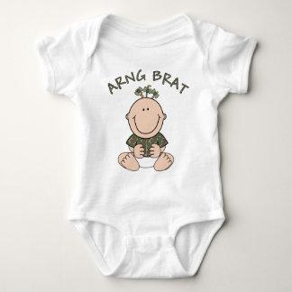 ARNG Brat (Girl) Infant Creeper