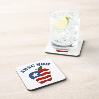 ARNG Mom Patriotic Apple Drink Coaster