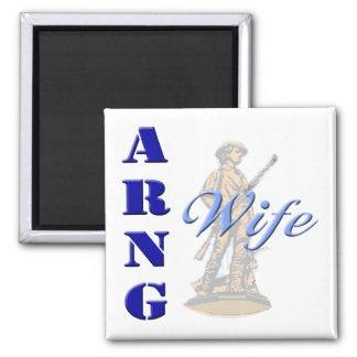 ARNG Wife Magnet