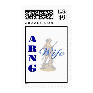 ARNG Wife Postage Stamps