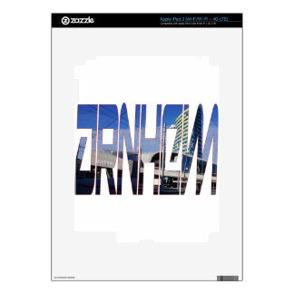 Arnhem, the Netherlands iPad 3 Decal