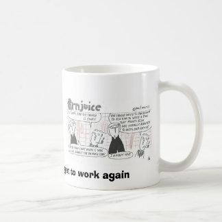 Arnjuice-Dan Brown needs to get to work again Coffee Mug