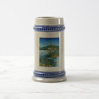 ARNO RIVER AT ROVEZZANO Florence Italy Beer Stein