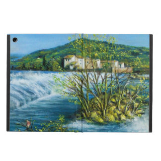 ARNO RIVER AT ROVEZZANO Florence Italy Case For iPad Air