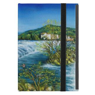 ARNO RIVER AT ROVEZZANO Florence Italy iPad Mini Case