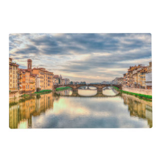 Arno river,Florence Placemat