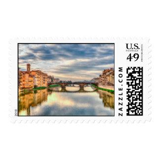 Arno river,Florence Postage
