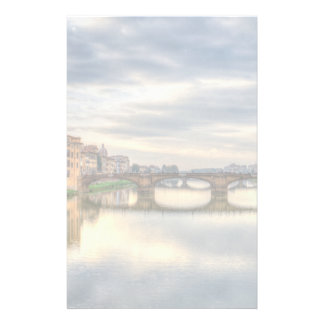 Arno river, Florence Stationery