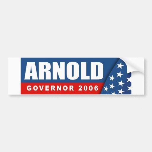 Arnold 2006 pegatina de parachoque