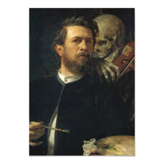Arnold Böcklin - autorretrato con muerte Comunicados Personales