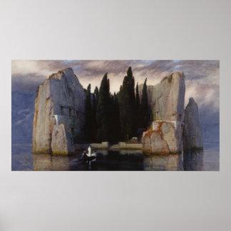 Arnold Böcklin - la isla de los muertos Póster