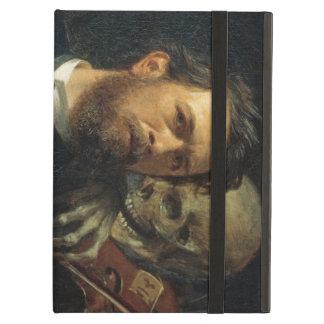 Arnold Böcklin - Self-Portrait with Death iPad Cover