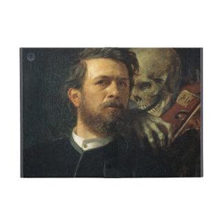 Arnold Böcklin - Self-Portrait with Death Covers For iPad Mini