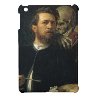 Arnold Böcklin - Self-Portrait with Death iPad Mini Case