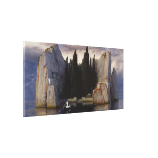 Arnold Böcklin - The Isle of the Dead Canvas Print